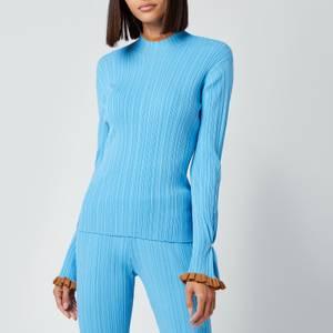 Holzweiler Women's Heimie Top - Light Blue