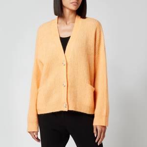 Holzweiler Women's Drive Knit Cardigan - Peach Orange