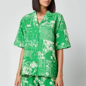 Holzweiler Women's Edgar Shirt - Green Mix