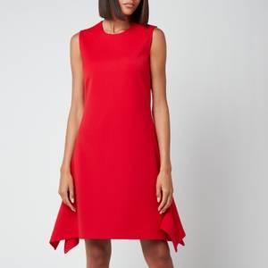 Victoria, Victoria Beckham Women's Flounce Hem Dress - Postbox Red
