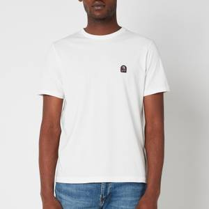 Parajumpers Men's Patch Logo T-Shirt - Off White