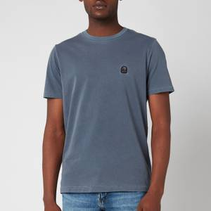 Parajumpers Men's Patch Logo T-Shirt - Flint Stone