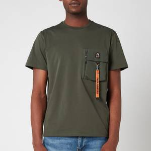Parajumpers Men's Mojave Chest Pocket T-Shirt - Sycamore