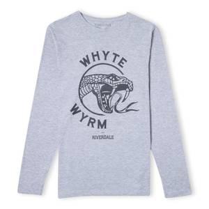 Riverdale Whyte Wyrm Unisex Long Sleeve T-Shirt - Grey