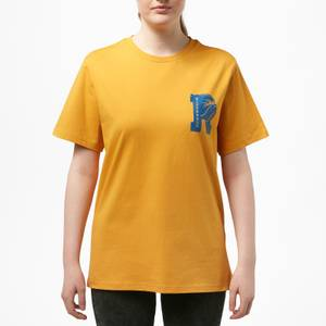 Riverdale Bulldog Pocket Print Unisex T-Shirt - Yellow