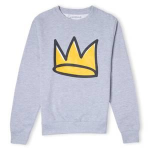 Riverdale Jughead Crown Unisex Sweatshirt - Grau