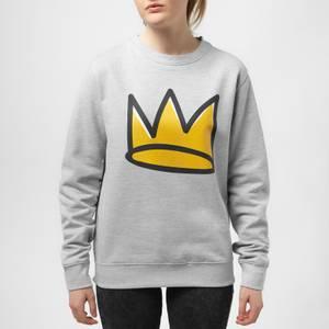 Riverdale Jughead Crown Unisex Sweatshirt - Grey