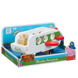 Peppa Pig - Wooden Aeroplane Toy