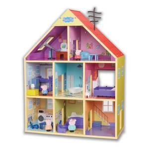 Peppa Pig - Wooden Playhouse Set