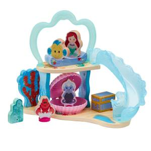 Disney Princess - Wooden Ariel's Undersea Grotto and Figure Playset