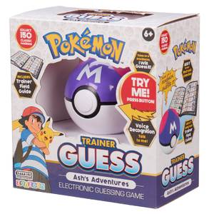 Pokémon Trainer Guess Ash's Adventures Game