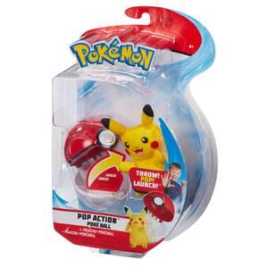 Pokémon Pop Action Pikachu Poke Ball