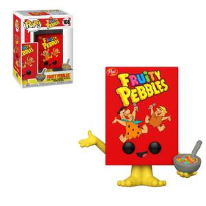 Post fruit Pebbles Cereal Box Funko Pop! Vinyl