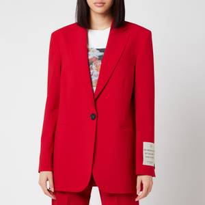 Golden Goose Women's Bova Tom Boy Blazer - Tango Red