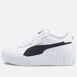 Puma Women's Cali Wedged Trainers - Puma White/Puma Black