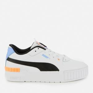 Puma Women's Cali Sport Trainers - Puma White/Soft Fluo Orange