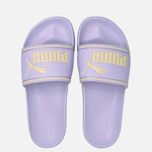 Puma Women's Leadcat Slide Sandals - Light Lavender/Yellow Pear