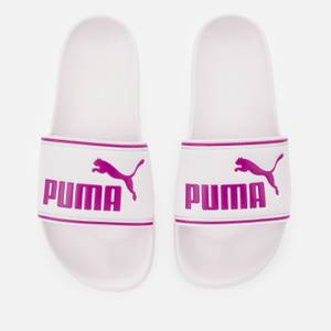 Puma Women's Leadcat Slide Sandals - Pink Lady/Byzantium