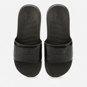 Puma Women's Popcat 20 Slide Sandals - Puma Black/Puma Black