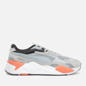 Puma Men's Rs X3 Running Style Trainers - Quarry/Quarry