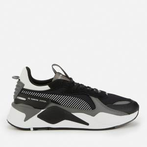 Puma Men's RS-X Mix Running Style Trainers - Puma Black/Castlerock