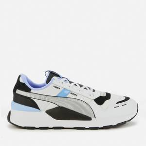 Puma Men's Rs 2.0 Futura Running Style Trainers - Puma Black/Elektro Purple/Puma Silver