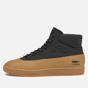 Puma X Maison Kitsuné Men's Ralph Sampson 70 Mid Rubber Trainers - Puma Black