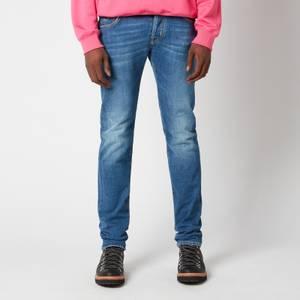 Jacob Cohen Men's J622 Yellow Badge Slim Jeans - Dark Blue