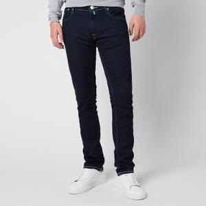 Jacob Cohen Men's J696 Green Badge Skinny Jeans - Indigo