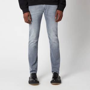 Jacob Cohen Men's J622 Grey White Badge Slim Jeans - Grey
