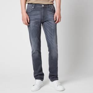 Tramarossa Men's Leonardo Slim Denim Jeans - Denim Grey Stretch