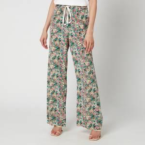 See By ChloéWomen's Floral Wide Leg Trousers - Multi
