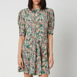 See By ChloéWomen's Short Puff Sleeve Floral Dress - Multi
