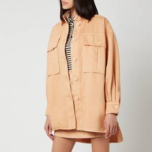 See By ChloéWomen's Oversized Shirt Jacket - Delicate Pink