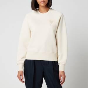 AMI Women's De Coeur Sweatshirt - Off White