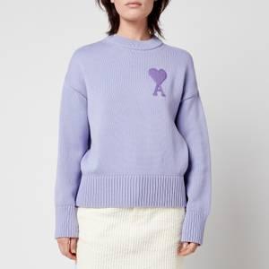AMI Women's De Coeur Jumper - Lilac
