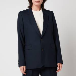 AMI Women's Two Buttons Jacket - Navy