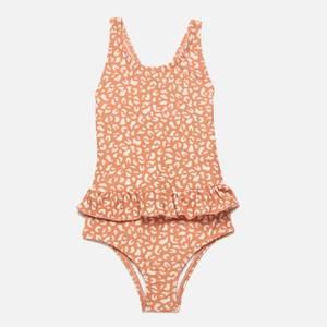 Liewood Girls' Amara Swimsuit - Mini Leo Tuscany Rose