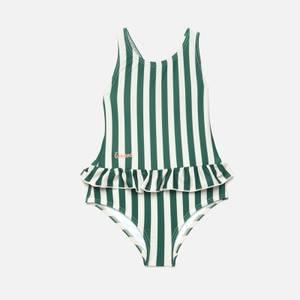 Liewood Girls' Amara Swimsuit - Garden Green/Sandy