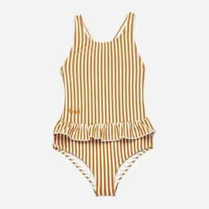 Liewood Girls' Amara Swimsuit - Orange/White