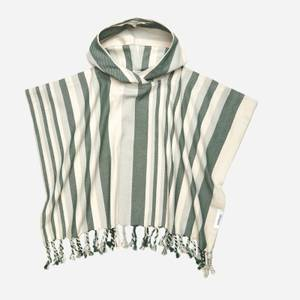 Liewood Roomie Poncho - Arden Green/Sandy/Dove Blue