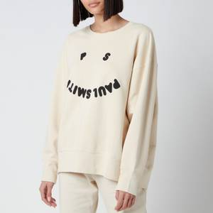 PS Paul Smith Women's PS Face Sweatshirt - Cream