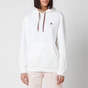 PS Paul Smith Women's Zebra Hoodie - White