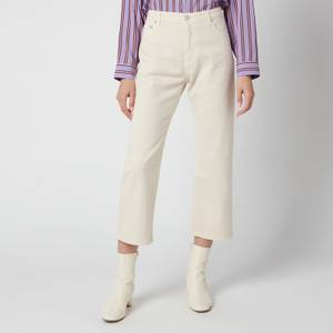 PS Paul Smith Women's Straight Leg Jeans - Cream