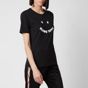 PS Paul Smith Women's Logo Printed T-Shirt - Black