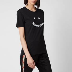 PS Paul Smith Women's Logo Printed T-Shirt - Black