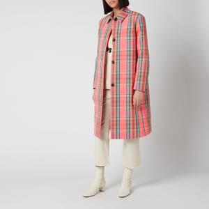 PS Paul Smith Women's Check Coat - Multi