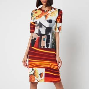 PS Paul Smith Women's Printed Photoprint Dress - Multi