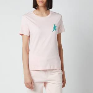 PS Paul Smith Women's Small Dino T-Shirt - Pink