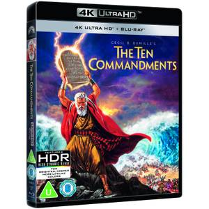 The Ten Commandments (1956) - 4K Ultra HD (Includes 2D Blu-ray)